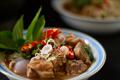 แกงรัญจวน ; Beef Curry Seasoned with Fermented Shrimp Paste Chili Sauce