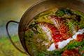 แกงเขียวหวานเป็ดย่าง ; Thai Green Curry with Roasted Duck and Young Chilies