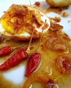 Eggs à la Son In Law <br>(ไข่ลูกเขย ; Khai  luuk kheeuy)