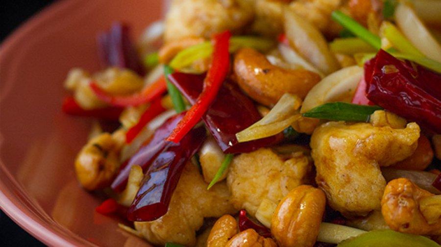 Stir-Fried Chicken with Cashew Nuts Recipe สูตรทำไก่ผัดเม็ดมะม่วงหิมพานต์; gai phat met mamuang himmaphan
