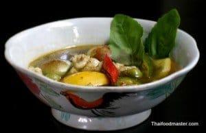 Fish Jungle Curry (แกงป่าปลา ; gaaeng bpaa bplaa)
