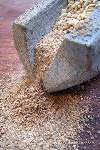 Ground Roasted Rice <br> (ข้าวคั่ว ; khaao khuaa)
