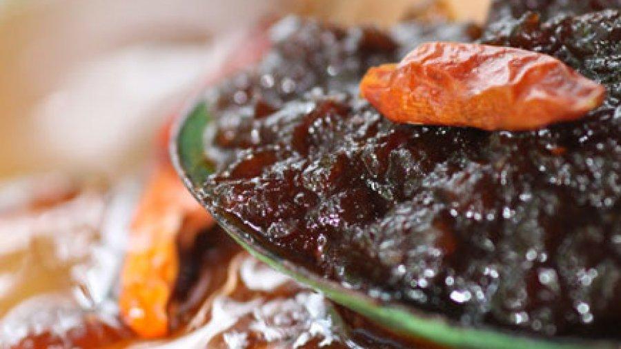 Roasted Chili Paste(Nam Prik Pao ; น้ำพริกเผา หรือ น้ำพริกผัด)