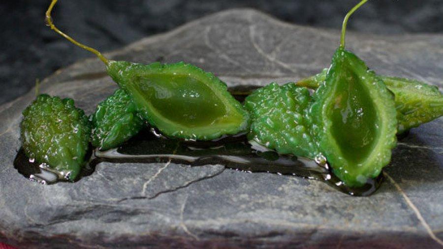 Jasmine Scented Candied Wild Bitter Gourd(mara khee nohk cheuuam ; มะระขี้นกเชื่อม)
