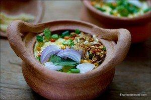 Southern Thai Style Savory Eggs Mousse<br>(khai dtoon gabpi naam ; ไข่ตุ๋นกะปิน้ำ)
