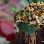 Luang Prabang Style Koi Fish Salad Recipe (Koi Pla)<br>(gaawy bplaa nin luang prabang ; สูตรทำก้อยปลานิลหลวงพระบาง)