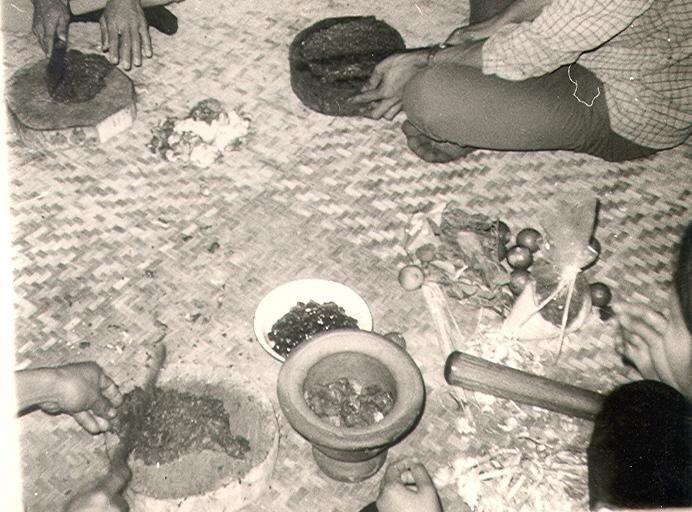 Making Laap, Loei Province 1969