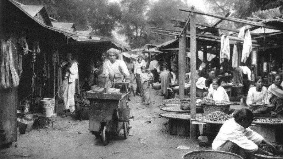 Marketplace, Lampang Province 1907