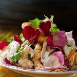 Rose Petals Salad (ยำกลีบกุพชกะ ; yam gleep goop cha ga)