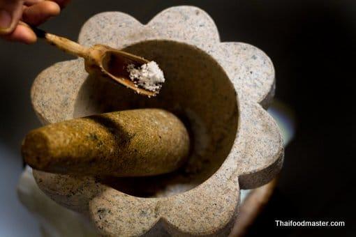 ขนมจีนซาวน้ำ ; khanohm jeen saao naam