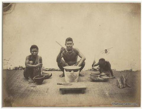 Photograph album of Siam, c1900