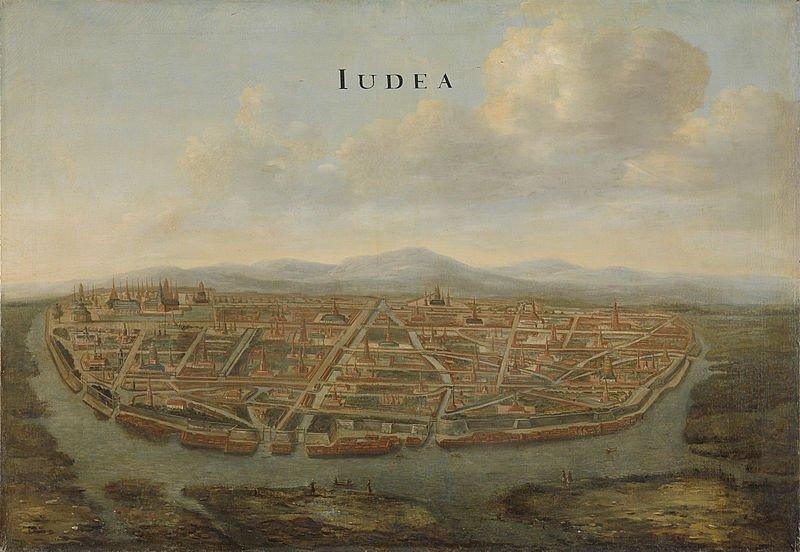 Gezicht_op_Judea,_de_hoofdstad_van_Siam_Rijksmuseum_SK-A-4477