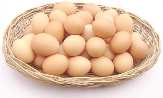Eggs - Chicken eggs (ไข่ไก่ ; khai gai)