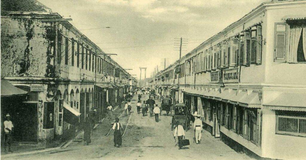 New Road in Bangkok 1920s